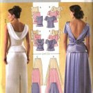 Butterick Sewing Pattern 4129 Misses Size 6-10 Formal Evening Prom Tops Long Skirts 2-piece Dress
