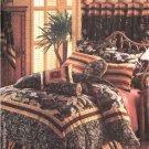Butterick Sewing Pattern 4150 Waverly® Bedroom Ensemble Duvet Cover Bed Skirt Pillows Neckroll