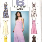 Butterick Sewing Pattern 4182 Misses Size 6-8-10 Easy Raised Waist Halter Spaghetti Strap Dress