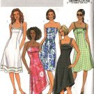 Butterick Sewing Pattern 4183 Misees Size 12-14-16 Strapless Halter Spaghetti Strap Summer Dresses