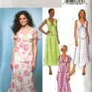 Butterick Sewing Pattern 4184 Misses Size 8-10-12 Pullover Tops Flared Skirts 2-Piece Dress