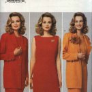 Butterick Sewing Pattern 4188 Misses Size 12-14-16 Easy Sleeveless Straight Dress Long Sleeve Jacket
