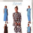 Butterick Sewing Pattern 4195 P346 Misses Size 8-12 Easy Wardrobe Jacket Dress Pants Top