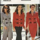 Butterick Sewing Pattern 4196 B4196 Misses Size 6-12 Easy Jacket Pants Skirt Suit Pantsuit