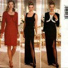 Butterick Sewing Pattern 4257 Misses Size 18-20-22 Easy Formal Evening Gown Dress Shrug Bolero