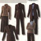 Butterick Sewing Pattern 4295 Misses Size 8-14 Easy Wardrobe Jacket A-Line Skirt Pants Belt