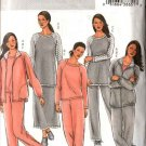 Butterick Sewing Pattern 4299 Misses Size 4-14 Easy Workout Wardrobe Jacket Top Skirt Pants