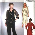 Butterick Sewing Pattern 4302 Womens Plus Size 18W-24W Easy Wrap Front Top Tunic Skirt Pants