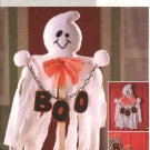 Butterick Sewing Pattern 4312 Halloween Ghost Wall Hanging Porch Home Decorations