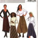 Butterick Sewing Pattern 4348 Misses Size 6-12 Easy A-Line Skirts Hemline Variations