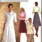 Butterick Sewing Pattern 4350 Misses Size 14-20 Easy Short Long Lined Pleated Skirt