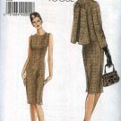 Vogue Sewing Pattern 8146 Misses Size 14-16-18-20 Easy Sleeveless Dress Button Front Swing Jacket