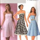 Butterick Sewing Pattern 4389 Misses Size 14-16-18-20 Lined Strapless Flared Skirt Dresses