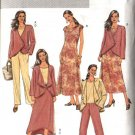 Butterick Sewing Pattern 4402 Misses Size 8-14 Easy Wardrobe Jacket Dress Top Pants Skirt