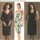 Butterick Sewing Pattern 4446 Misses Size 6-12 Easy Vest Jacket Straight Sleeveless Dress