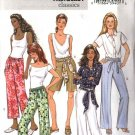 Butterick Sewing Pattern 4462 Misses Size 8-10-12-14 Easy Classic Fitted Shorts Cropped Long Pants