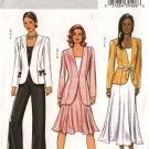 Butterick Sewing Pattern 4464 Misses Size 8-10-12-14 Easy Wardrobe Jacket Top Skirt Pants