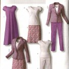 Butterick Sewing Pattern 4468 Misses Size  8-10-12-14 Easy Wardrobe Jacket Dress Pants Top Skirt