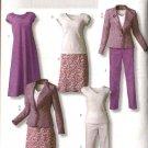 Butterick Sewing Pattern 4468 Misses Size  16-18-20-22 Easy Wardrobe Jacket Dress Pants Top Skirt