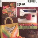 Butterick Sewing Pattern 4476 Fat Quarters Sewing Accessories Pin Cushions Scissor Case Catchall