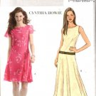 Butterick Sewing Pattern 4509 Misses Size 6-8-10-12 Easy Dropped Waist Flared Skirt Dress