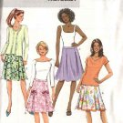 Butterick Sewing Pattern 4519 Misses Size 8-10-12-14 Easy Pleated Embellished Skirts