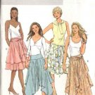 Butterick Sewing Pattern 4520 Misses Size 16-18-20-22 Easy Circular Tiered Yoke Skirt