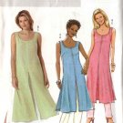 Butterick Sewing Pattern 4523 Misses Size 4-14 Easy Pullover Long Tunic A-Line Skirt Cropped Pants