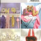 Butterick Sewing Pattern 4534 10' Alphabet Letter  Pillows