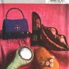 Butterick Sewing Pattern 4567 B4567 Girls' Pillows Cushions Lipstick Lips Mirror Purse Flip Flop