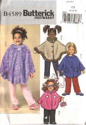 Fleece Hooded Poncho Pattern – Lena Patterns