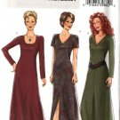 Butterick Sewing Pattern 4597 Misses Size 8-10-12-14 Easy Knit Dress Sleeve Neckline Variations