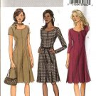 Butterick Sewing Pattern 4598 Misses Size 8-10-12-14 Easy Princess Seam Pleats Dress