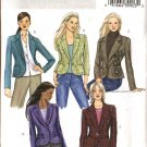 Butterick Sewing Pattern 4610 Misses Size 14-16-18-20 Easy Fitted Lined Princess Seam Jacket