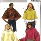 Butterick Sewing Pattern 4612 B4612 Misses Size 4-14 Easy Collar Hooded Ponchos