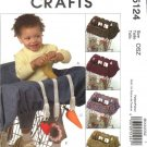McCall's Sewing Pattern 5124 Baby's Infants Grocery Cart Liner Toys
