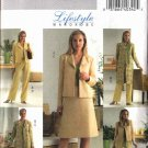Butterick Sewing Pattern 4692 Misses Size 16-18-20-22 Easy Wardrobe Jacket Duster Skirt Pants