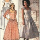 Retro Butterick Sewing Pattern 4829 B4829 Misses 6-8-10 Formal Gown Dress Sleeve Length Variations