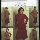 Butterick Sewing Pattern 4878 Womans Plus Size 18W-24W Wardrobe Unlined Jacket Skirt Pants