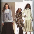 Butterick Sewing Pattern 4941 Womans Plus Size 18W-24W Easy Wardrobe Vest Blouse Skirt Pants