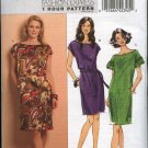 Butterick Sewing Pattern 5211 Misses Sizes 16-24 Easy 1 Hour Straight Sleeveless Short Sleeve Dress