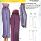 Butterick Sewing Pattern 5222 Misses Size 3-16 Easy Classic Cropped Long Fitted Pants