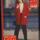 Butterick Sewing Pattern 5620 Misses Size 6-8-10 Easy Cardigan Jacket Top Pants