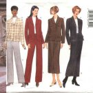 Butterick Sewing Pattern 5839 Misses Size 20-24 Easy Classic Button Front Jacket Skirt Pants