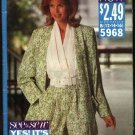 Butterick Sewing Pattern 5968 Misses Size 12-14-16 Easy Cardigan Jacket Jumpsuit Romper