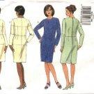 Butterick Sewing Pattern 6092 B6092 Womans Plus Size 16W Fitting Shell Straight Dress