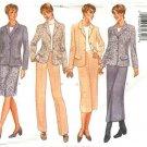 Butterick Sewing Pattern 6343 B6343 Misses Size 18-22 Wardrobe Jacket Straight Skirt Pants