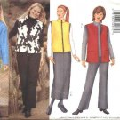 Butterick Sewing Pattern 6779 Womans Plus Size 16W-20W Easy Wardrobe Jacket Vest Skirt Pants
