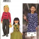 Butterick Sewing Pattern 6788 Girls Size 6-7-8 Easy Wardrobe Button Front Jacket Vest Skirt Pants