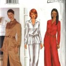 Butterick Sewing Pattern 6901 Misses Size 6-8-10 Easy button Front Top Dress Fitted Pants